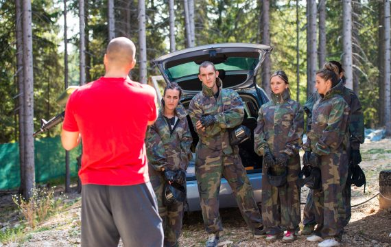 Paintball for the first time - what to expect