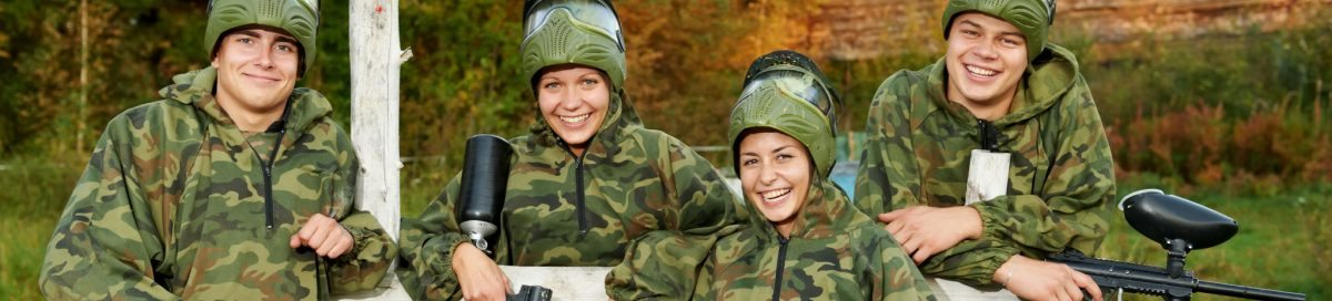 Go play Paintball with Friends and Girls